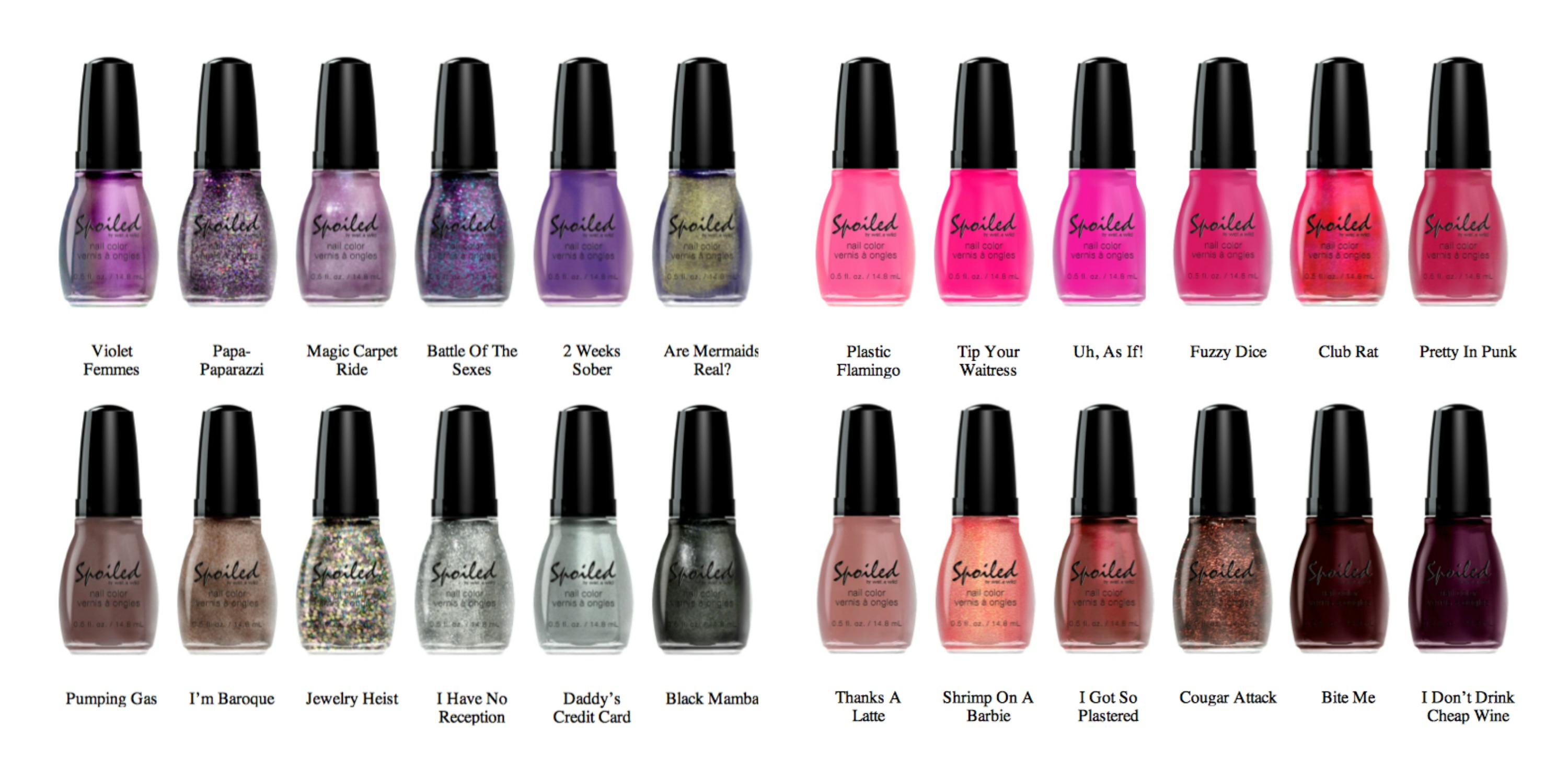 Wet n\' Wild Spoiled Nail Polish - The Anti Mom Blog